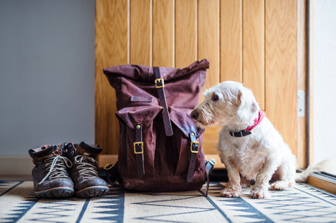 Often, boots and bags get left by the front door.