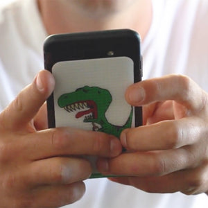 Dino Sore inspired cell phone grip