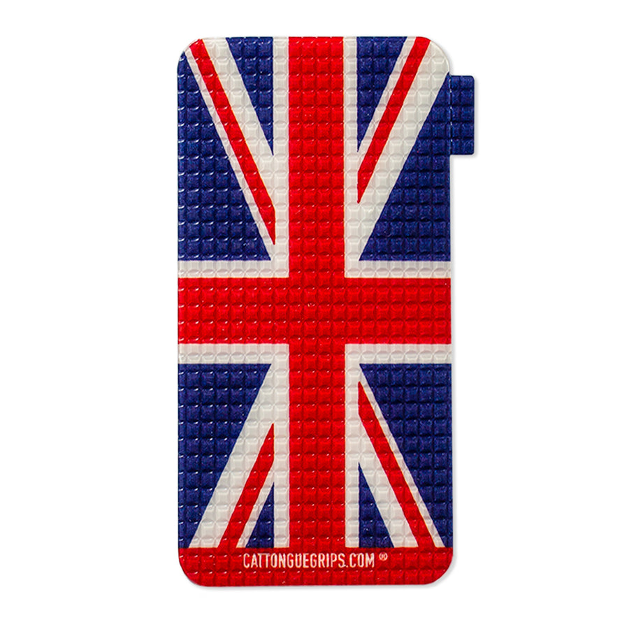 phone case grip with the union jack flag for mobile devices