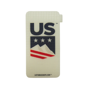Small US SKI & SNOWBOARD approved mobile phone grip for your devices