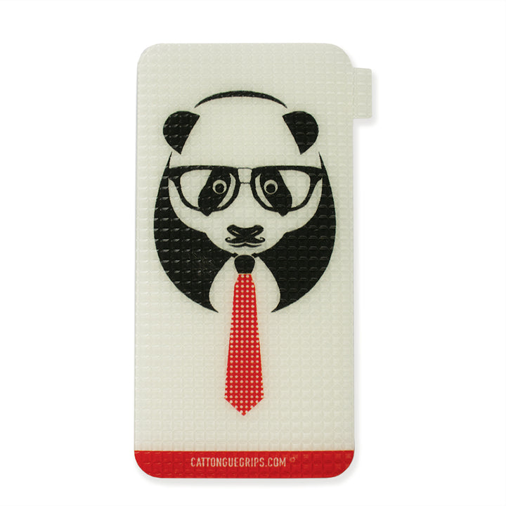 Panda graphic on a great cell phone grip!