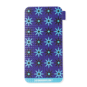 Retro flower power abounds with this cell phone grip
