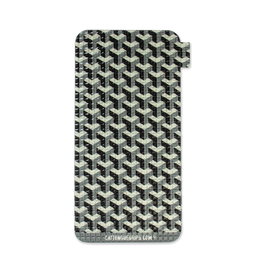 Graphic block cell phone grip for your mobile device or case