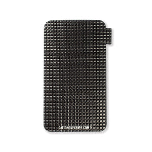 Midnight black inspired cell phone grip for your mobile device