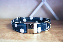 Load image into Gallery viewer, Navy Baby: Handmade Dog Collar