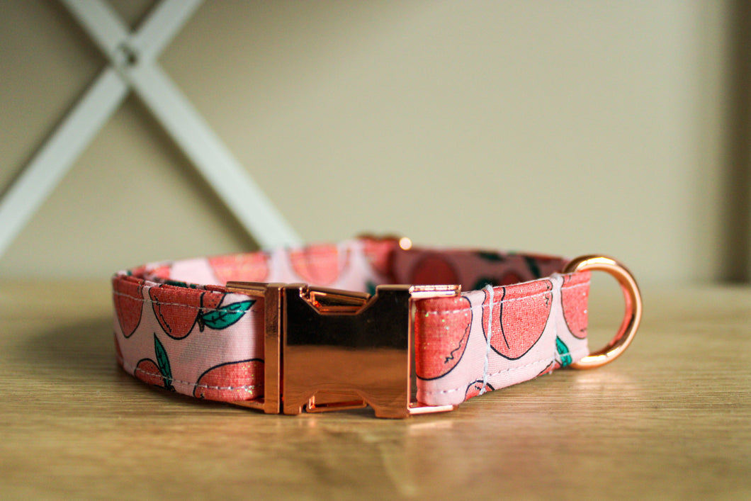 Peachy Perfect: Handmade Dog Collar