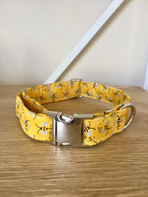 Load image into Gallery viewer, Buzzy Bee: Handmade Dog Collar