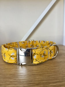 Buzzy Bee: Handmade Dog Collar