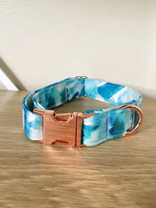 Into the Blue: Handmade Dog Collar