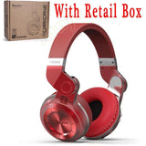 Bluetooth Headphones With Mic T2 Plus Red Box