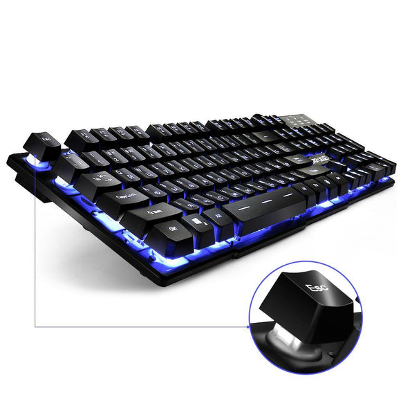 Led Backlight 3 Colour Gaming Keyboard