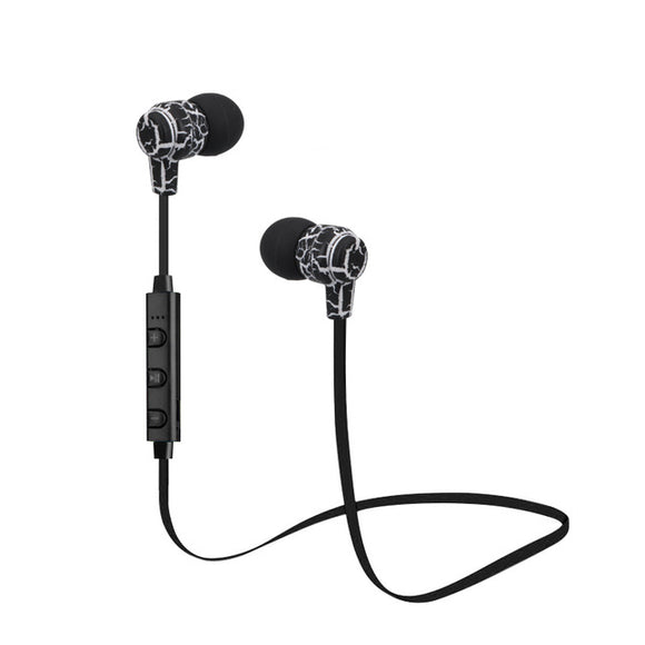 Wireless Bluetooth Earbuds With Stereo Super Bass And Handsfree Mic Black