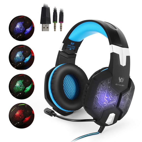 Stereo Gaming Headset With Led Light