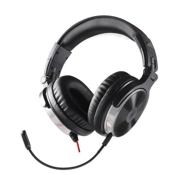 Stereo Wired Dj Headset With Detachable Microphone