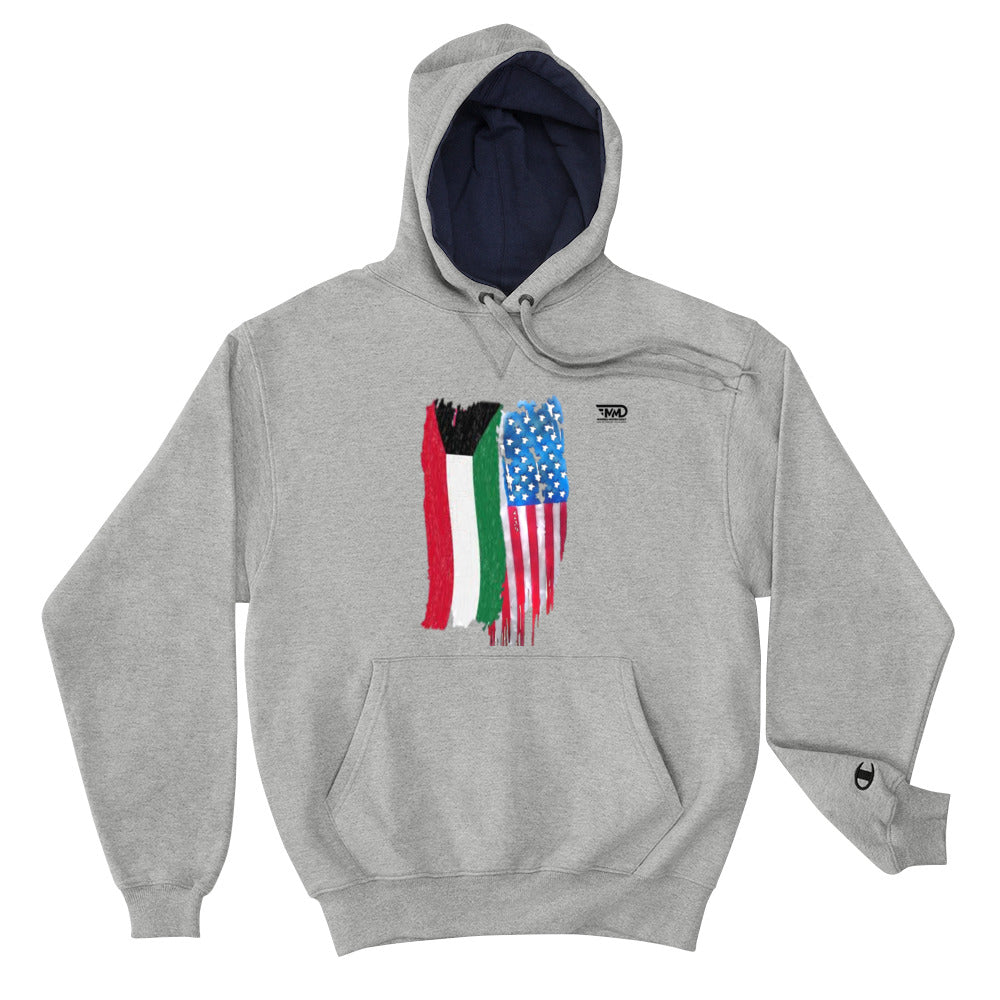 MMD Kuwait and US Champion Hoodie / Grey - Making Moves Daily