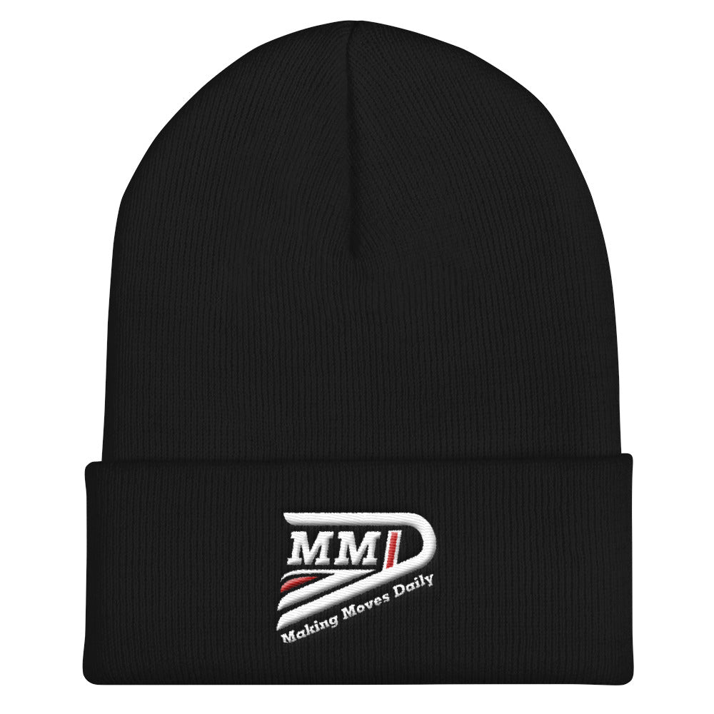 MMD Signature Cuffed Beanie - Making Moves Daily