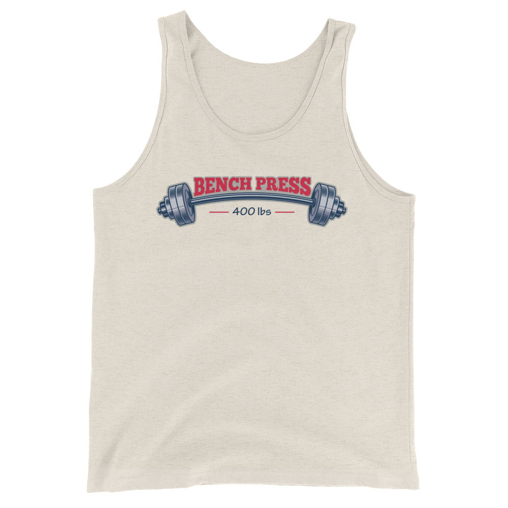 Bench press  Tank Top - Making Moves Daily