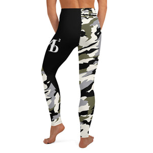 MMD Green/Black/White Yoga Leggings - Making Moves Daily