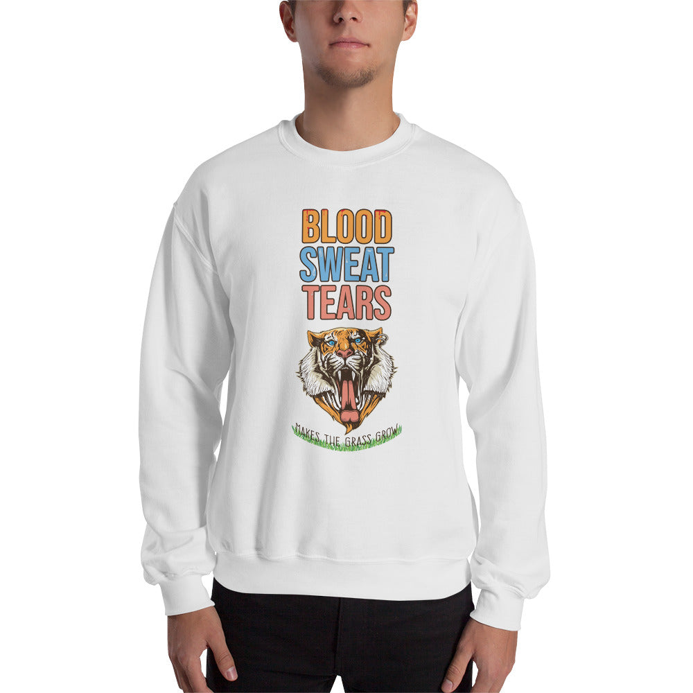 Blood Sweat & Tears Tiger Sweatshirt - Making Moves Daily