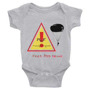 Infant PLF Airborne Bodysuit 6m - 24m - Making Moves Daily
