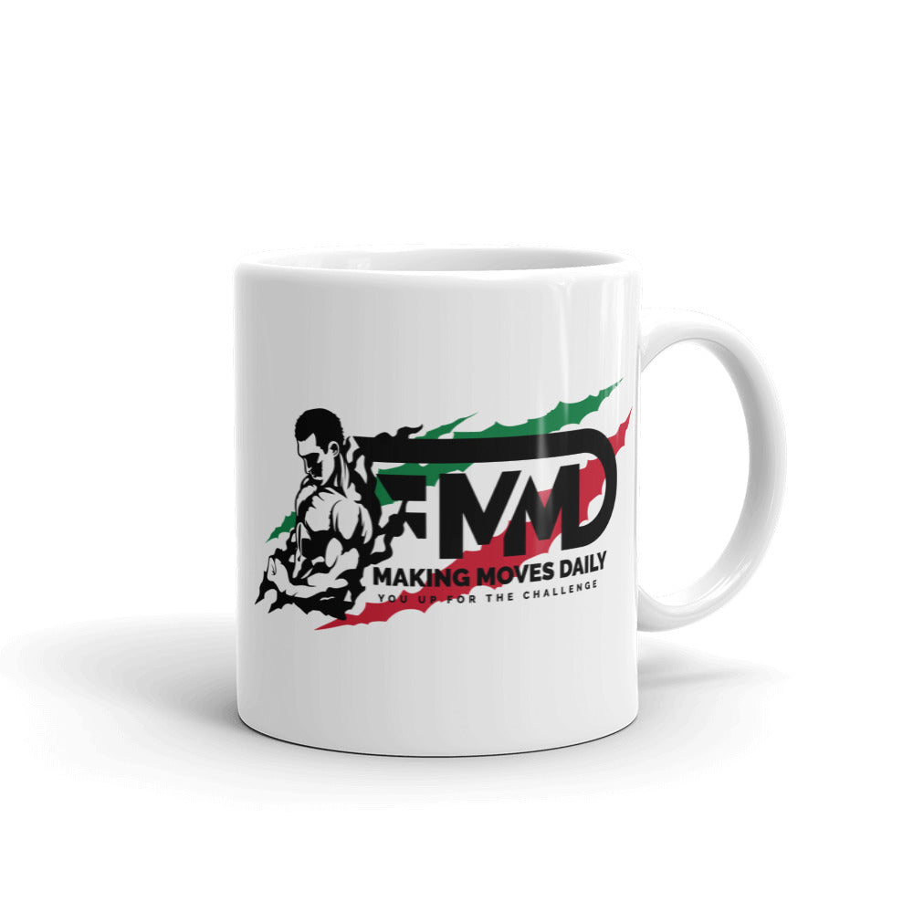 MMD Women & Men Logo Mug - Making Moves Daily