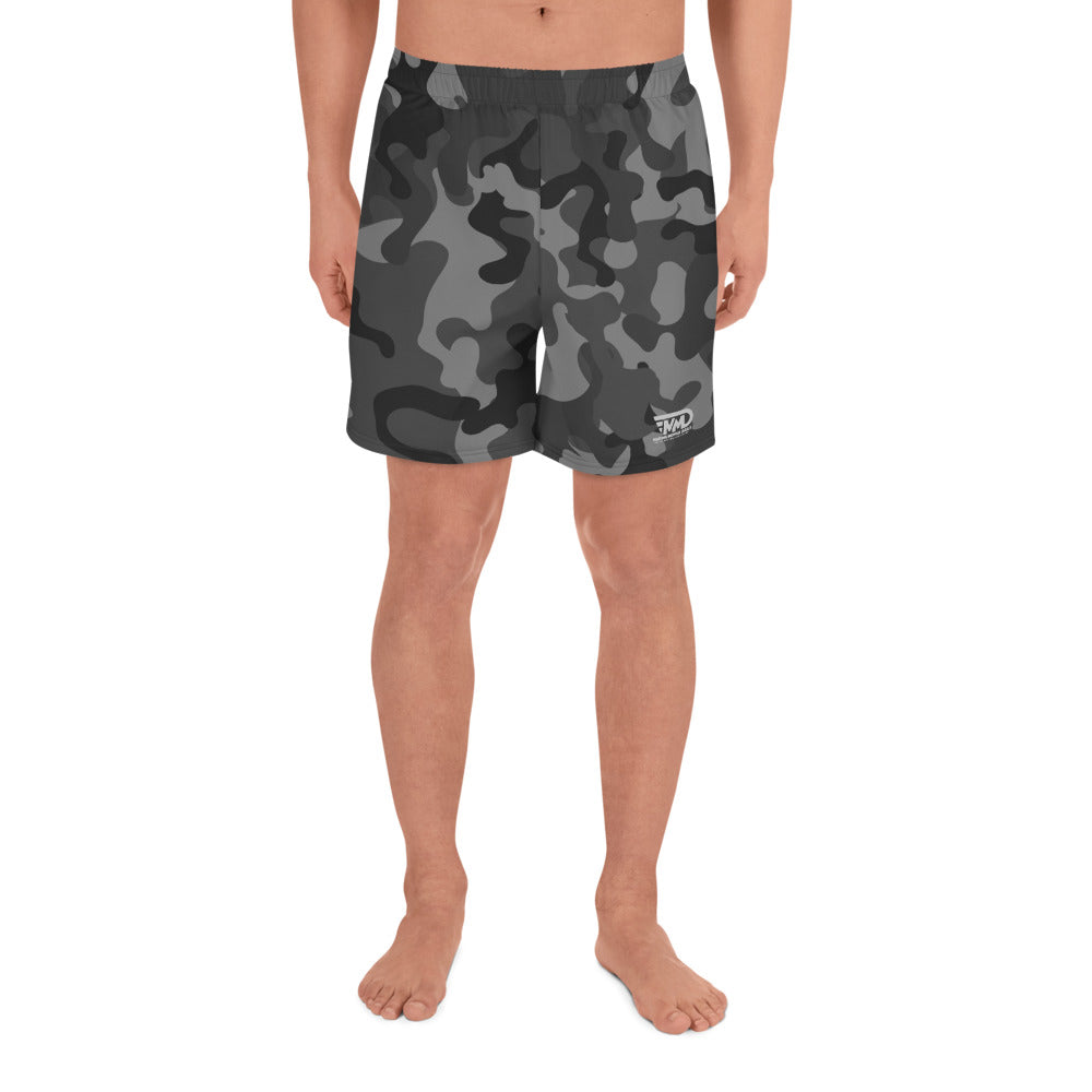 MMD Camo Blak and Gray Shorts - Making Moves Daily