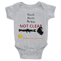 Infant Back Blast Area Bodysuit 6m - 24m - Making Moves Daily