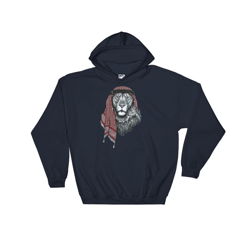Lion MMD Hooded Sweatshirt - Making Moves Daily