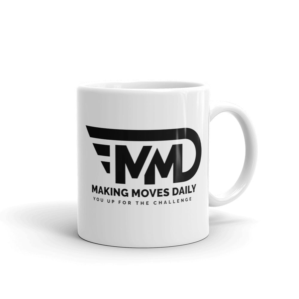 MMD Black Logo Mug - Making Moves Daily