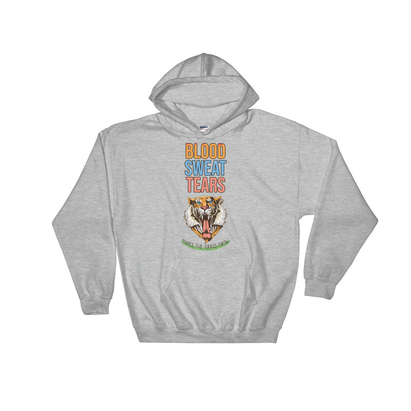 Blood Sweat & Tears Tiger Hoodie - Making Moves Daily