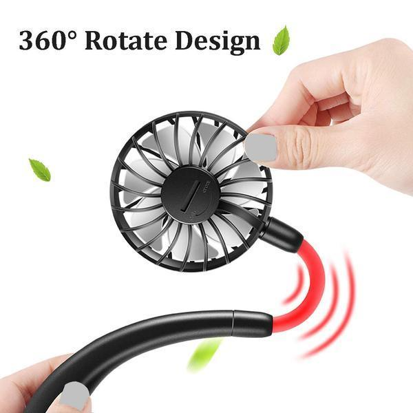 Limited Stock-Hands-Free Cooling Neckband Fan-Buy 2 Free Shipping