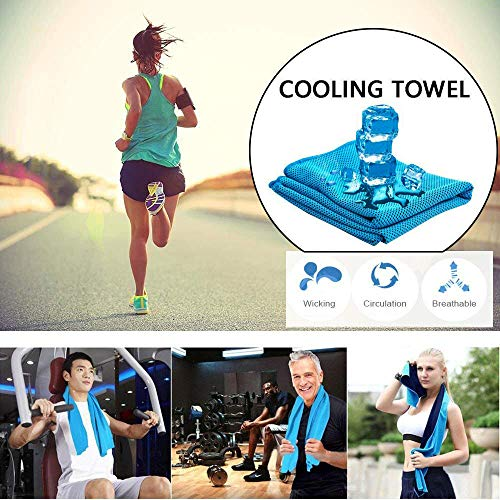 Hot Sale Today-Soft Breathable Cooling Towel