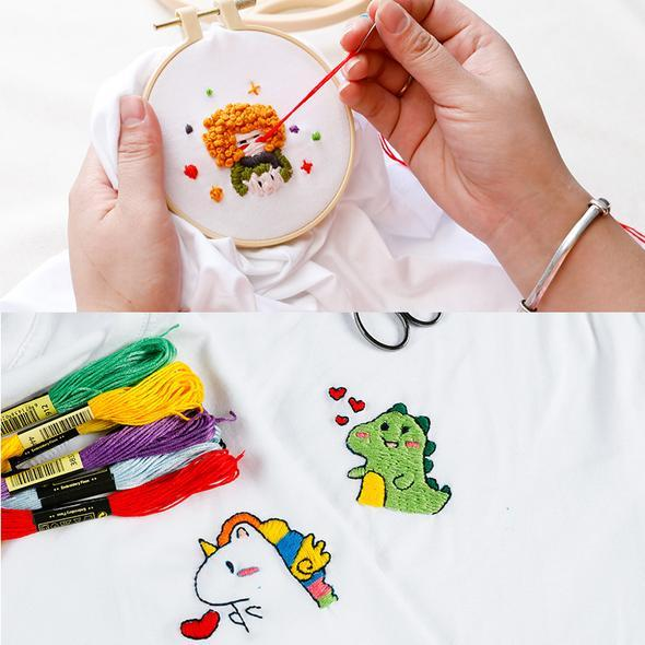 (50% Off Today Only!)  Embroidery Handmade DIY Clothes-Buy Two, Free Shipping!