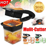(50% off Today Only) 5-in-1 Fruit and Vegetable Cutter™(Buy 2 free shipping)