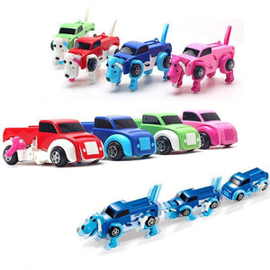 (50% Off Today Only!) Dog Transformer Wind-Up Toy Truck- Buy Two, Free Shipping!
