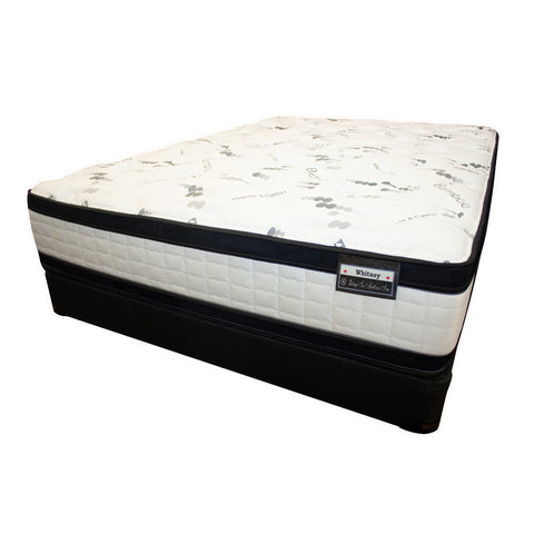 Whitney Flippable Eurotop Mattress Set