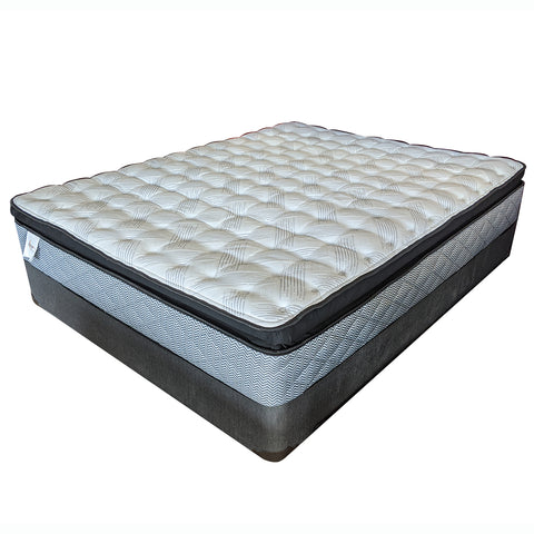 Sealy Euro Pillowtop Luxury Firm Mattress Set