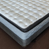 Close Up of Sealy Euro Pillowtop Luxury Mattress Set