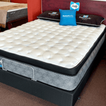 Inure Plush Pillowtop Queen Mattress Set