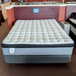 Sealy Euro Pillowtop Luxury Mattress Set