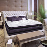 The Renaissance Ultra Luxury Plush Pillow Top Queen Mattress Set