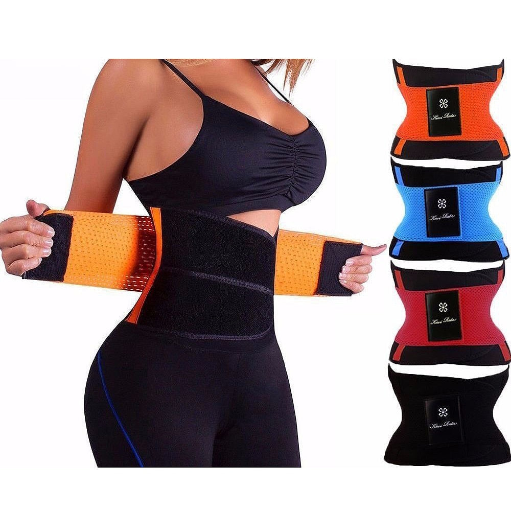 87ebc675f5 Fitness Belt Xtreme Power Thermo Hot Body Shaper Waist Trainer ...