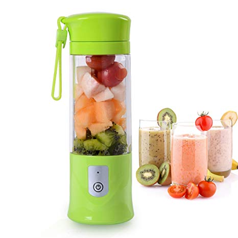 400 ml Fruit Juicer USB Electric Handheld Smoothie Maker Blender Juice Cup