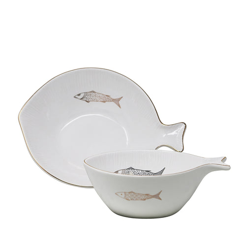 Bowls Decorativos Fishy (2 sets)