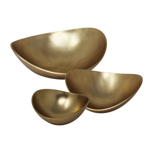 Bowl Decorativo Goldini (Set de 3)