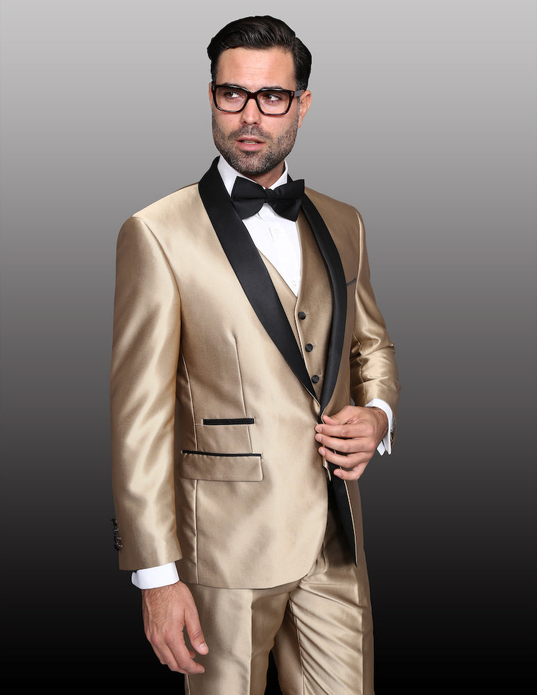 4 PC Modern Fit Suit