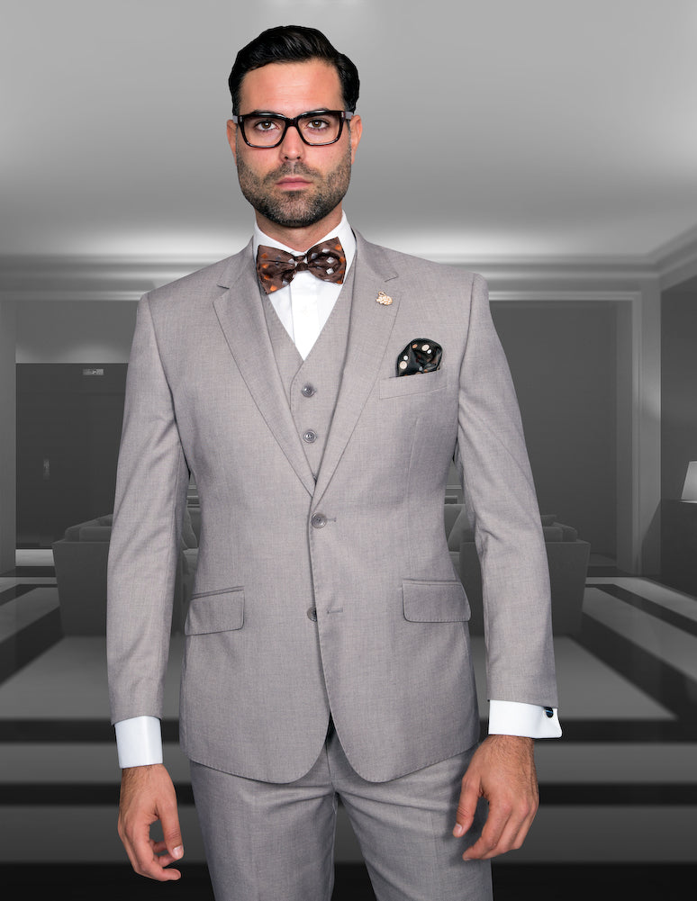 3PC Tailored Fit Suit