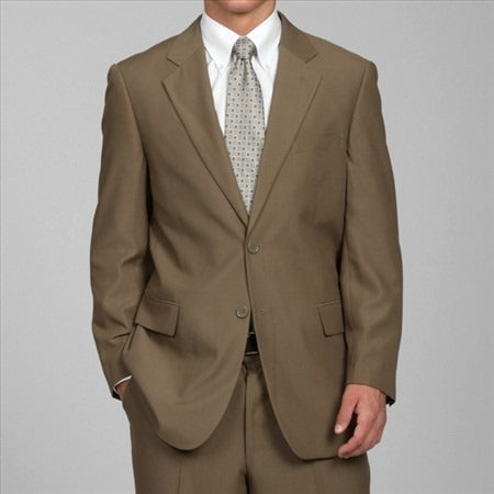 C67901-7 Carlo Lusso Collection 2-PC Men's Suit - Taupe