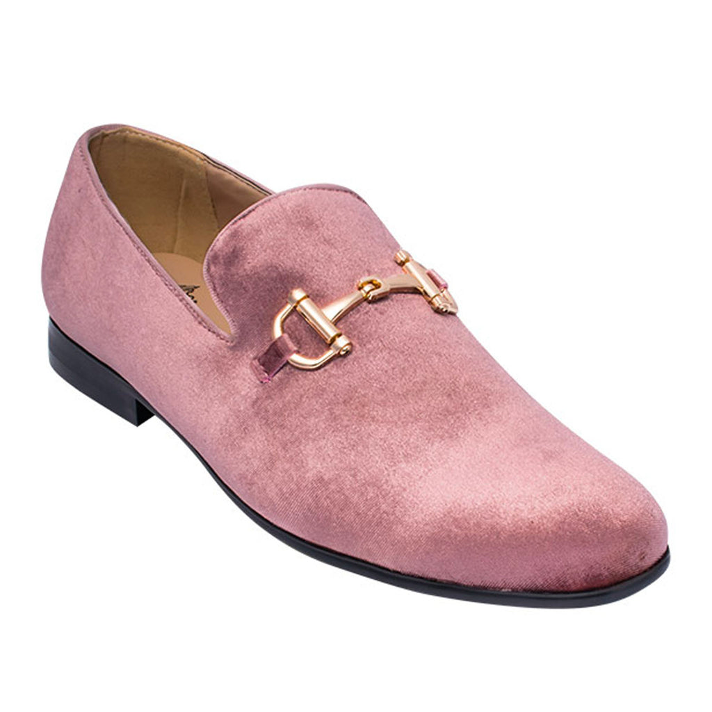 Dusty Rose Loafer Shoe