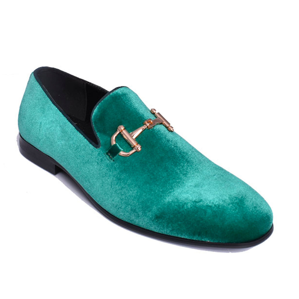 Emerald Green Loafer Shoe
